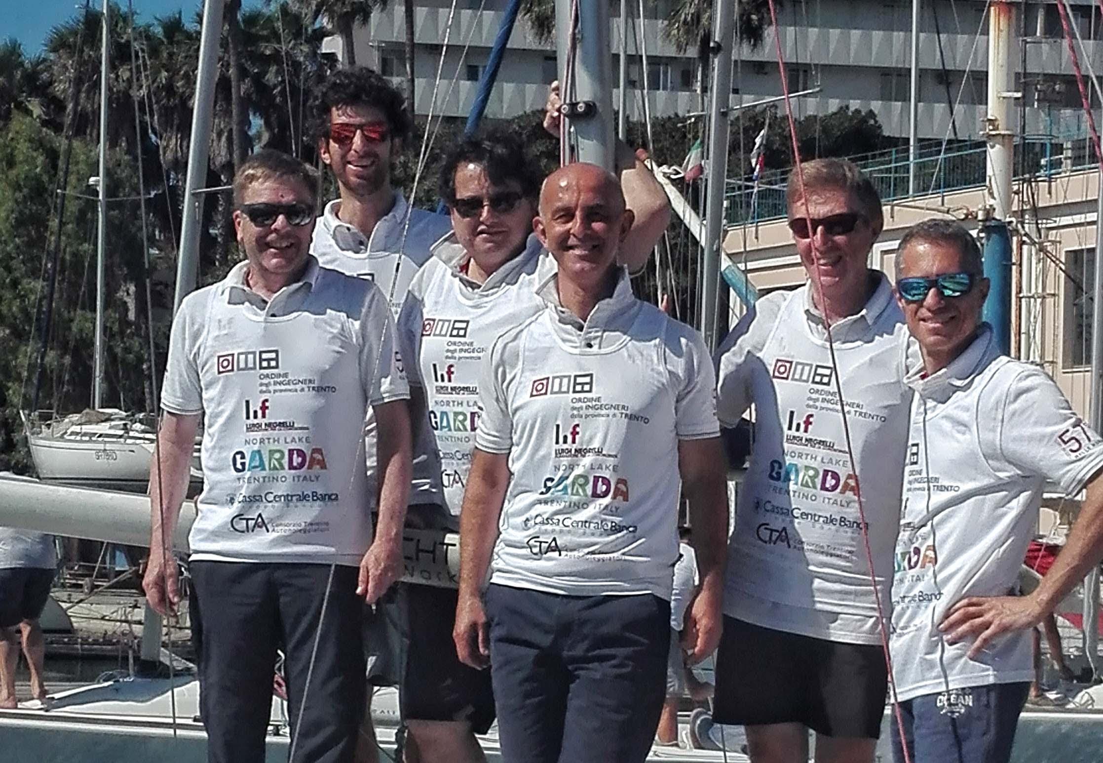 Trentini sul podio al Campionato nazionale di vela degli Ordini degli Ingegneri d'Italia